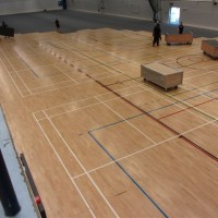 2000M2 HALL STARTED 800AM