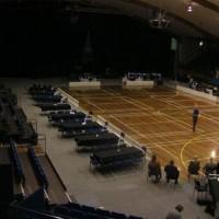 Part carpeted stadium